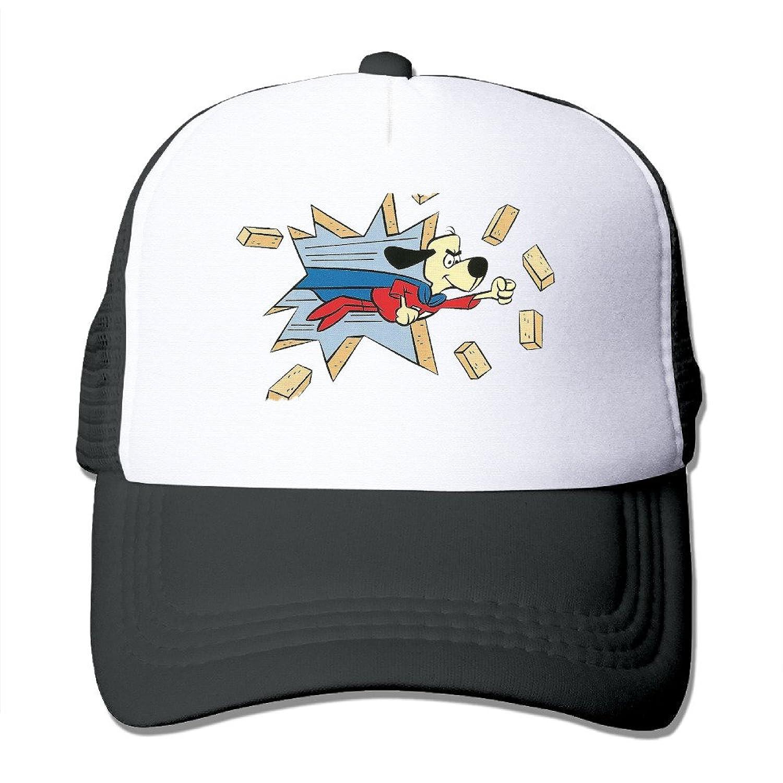 Baboy Underdogs Sunbonnet Hat Lightweight Mesh Snap Back HatBlack