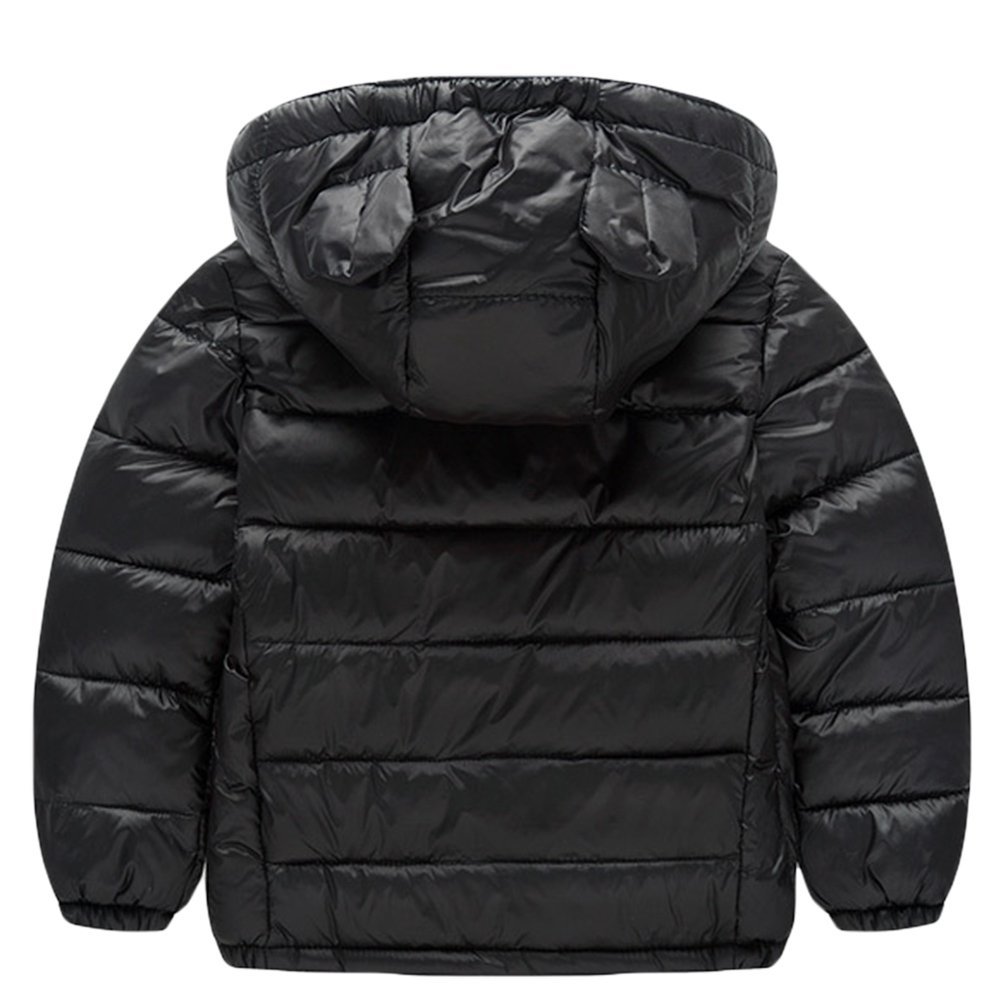 3efd21d85 Amazon.com  Baby Boys Girls Winter Puffer Down Jacket Kids Ear Warm ...