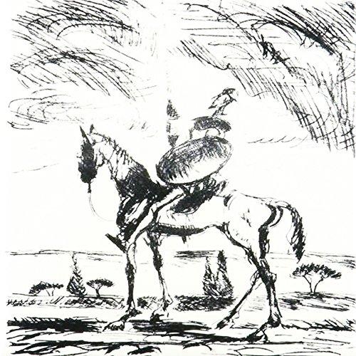 3dRose ct 78688 3 Quixote Don Literature Fictional