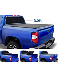 Tyger Auto T3 Tri-Fold Truck Bed Tonneau Cover TG-BC3T1032 Works with 2007-2013 Toyota Tundra | Fleetside 5.5' Bed | for...
