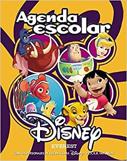 Agenda Escolar Disney (Álbumes Disney): Amazon.es: Walt ...