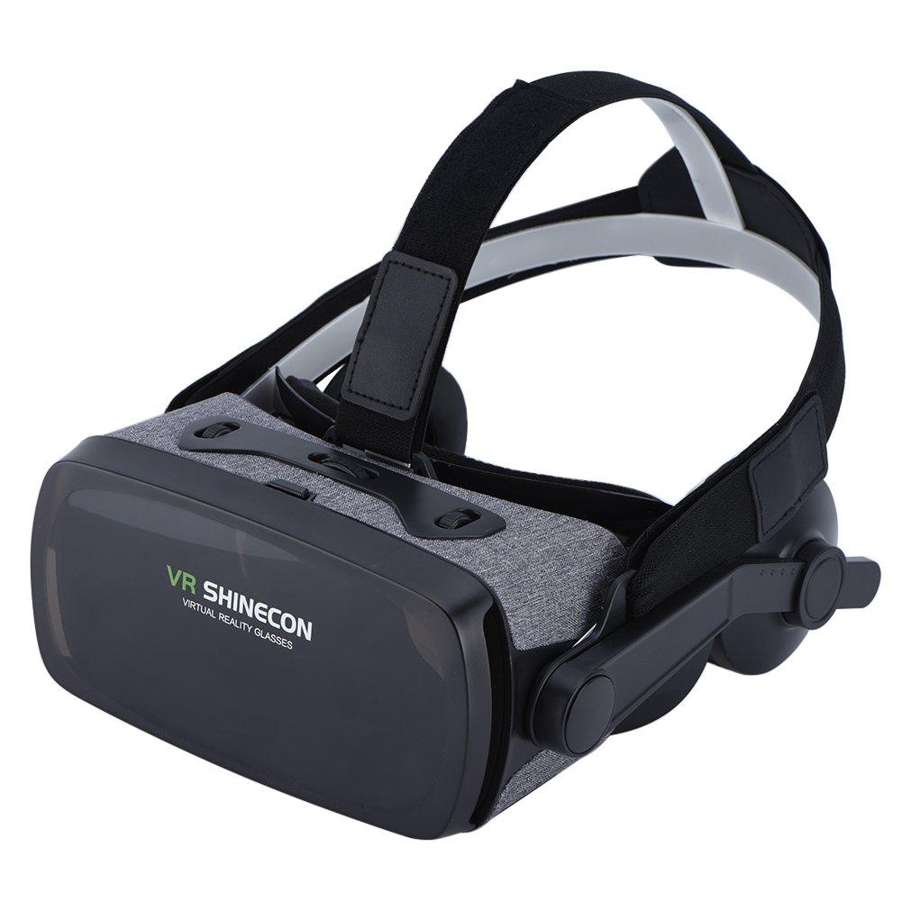 VBESTLIFE Occhiali 3D VR Occhiali Virtuali 3D VR Occhiali Realtà Virtuale Gioco Visualizzatore Film con Cufie per Telefoni iOS/Android