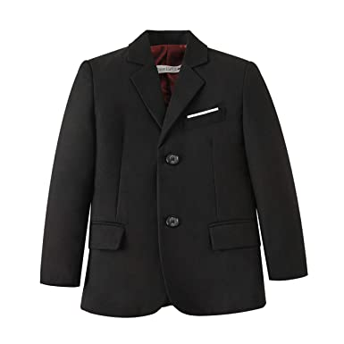 b6f2495bf Amazon.com  YuanLu Boys  Formal Suits Blazer Jacket Coat for Kids ...
