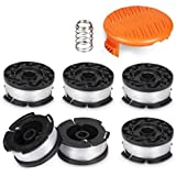 "Line String Trimmer Replacement Spool,30ft 0.065"" for Black+Decker String Trimmers, Replacement Auto Feed Spool…"
