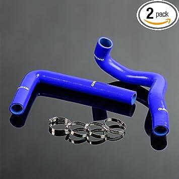 Silicone Radiator Turbo Hose Kit Pipe Toyota Supra JZA80 VVTI 2JZ-GTE 3.0L Black