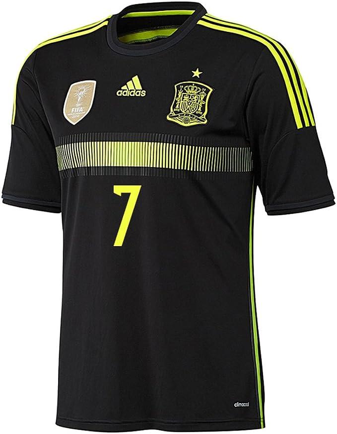 adidas David Villa #7 España Camiseta 2da Copa Mundial 2014 (S ...