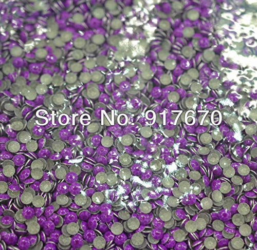 Maslin Promotional neon 2mm Korean Rhinestuds for leathercraft 1000gross, Purple Rivets for Leather, Metal Studs and Spikes for Clothes by Maslin (Image #2)