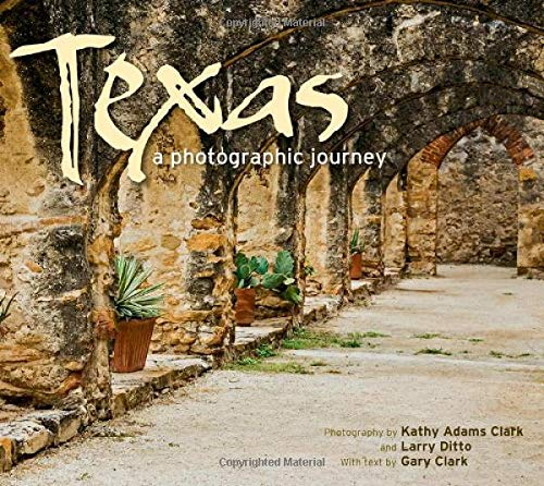 The Lone Star State shines in Texas: A Photographic Journey, by award-winning photographers Kathy Adams Clark and Larry Ditto, with captions by Houston Chronicle columnist Gary Clark. These three Texans guide readers on a grand tour from the Panhandl...