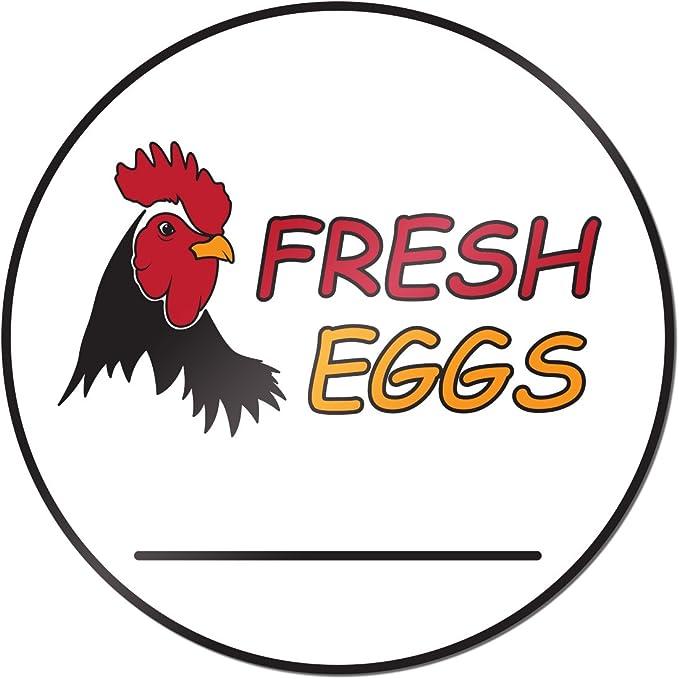 Eggs Farm Fresh DECAL Choose Your Size Farmers Market Food Truck Sticker