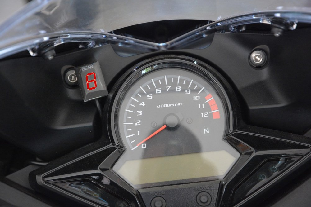 IDEA Waterproof Motorcycle Gear Indicator LED Display Plug /& play for Honda fits CB1300 S//F VTX1800 XL125V Varadero NC700 S//X and so on
