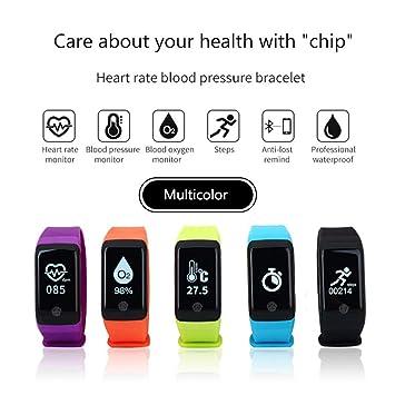 LDD Sports Smart Pulsera h10pro Entrenamiento Contador de frecuencia cardíaca Tensiómetro de sangre Oxígeno Sleep Health Monitoring resistente al agua ...