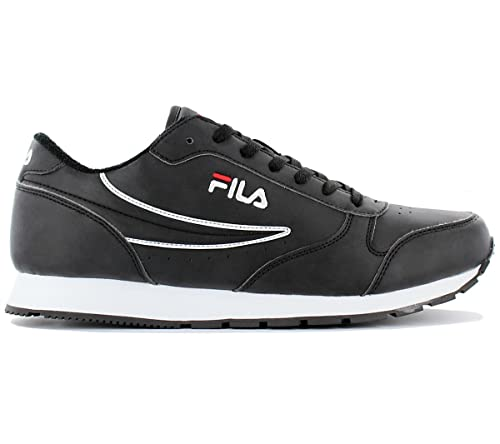 Fila Orbit Low 1010123.25Y Footwear Black Mens Trainers ...