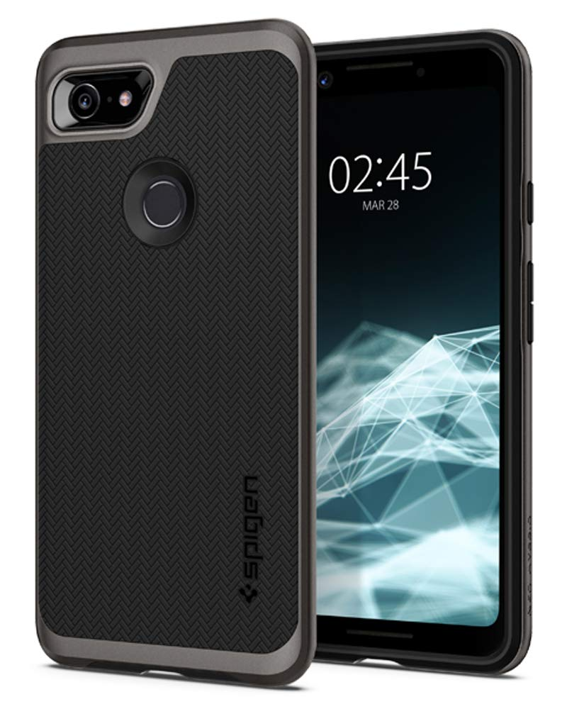 Spigen Neo Hybrid with Flexible Inner Protection and Reinforced Hard Bumper Frame Designed for Google Pixel 3 Case (2018) - Burgundy F19CS25037