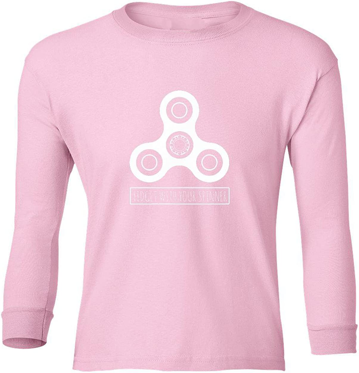 Marky G apparel Boys Fidget With Your Spinner T-Shirt