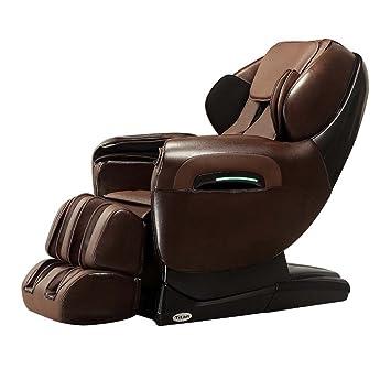 titan pro tp 8400 dark brown zero gravity l track recliner massage