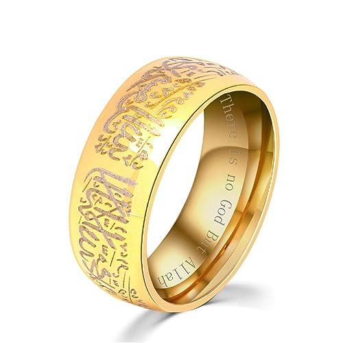bague en or femme islam