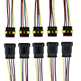 ZYTC 4 Pin Way Car Waterproof Wire Connector Plug