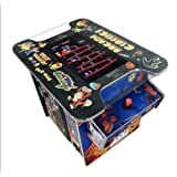 """AB INC. Exclusive Huge 22"""" Screen !! NOT 19 INCH!! Cocktail Arcade Machine 412 Classic Games 150LB+ Commercial Grade"""