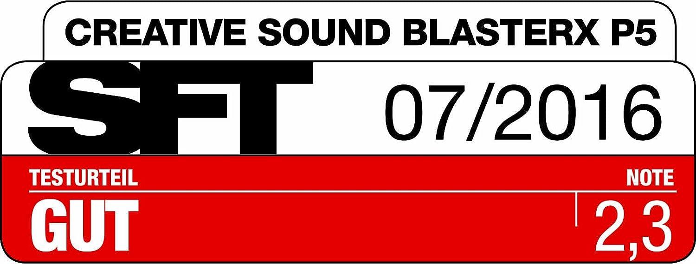 ff35e57e865 Creative Sound BlasterX P5 High Performance In-Ear Gaming Headset:  Amazon.co.uk: Computers & Accessories