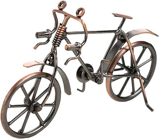 VORCOOL - Modelo de bicicleta retro, arte metálico decorativo para ...