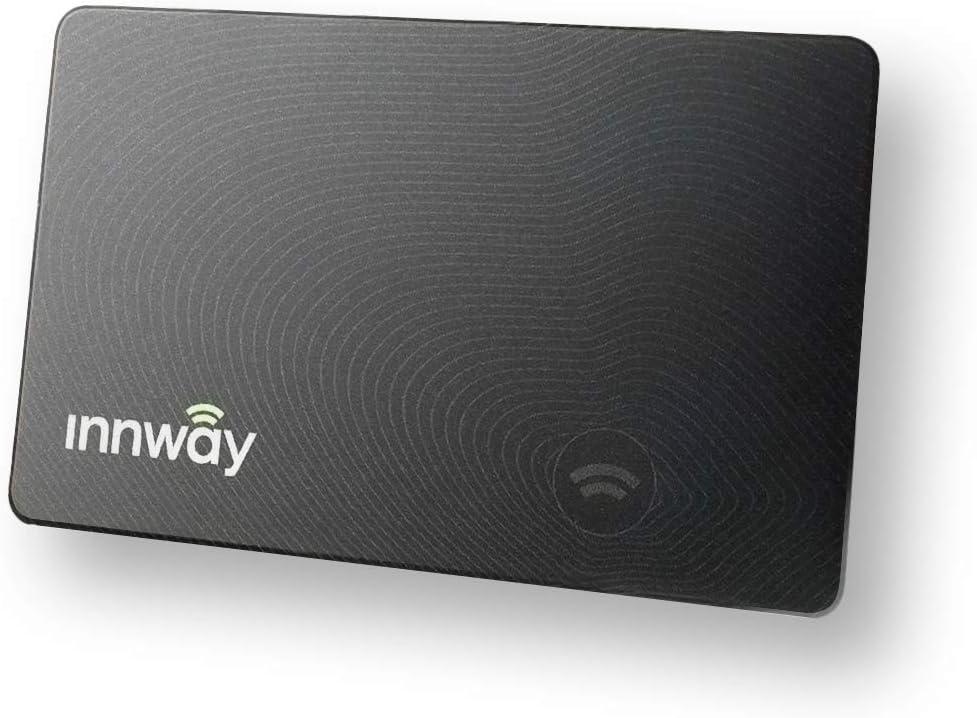 GPSで財布を守る 紛失防止タグ Innway