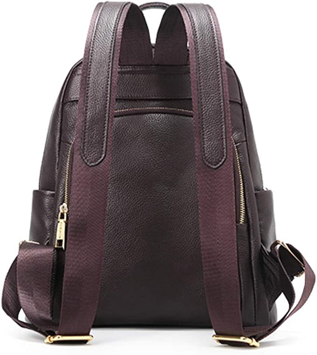 Kalmar Backpack Grils 2019 New Morden Leather Suede Leather Soft Leather Large Capacity Wild Ladies Backpack Nappy Tote Bags for Mom /& Dad Large Capacity Color : Brown, Size : Small