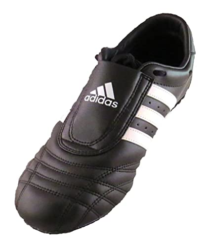 new style 405a9 e2d1c Image Unavailable. Image not available for. Color  Adidas SM-II Low Cut  Sneaker Sneaker (White with Black Stripes) - Size