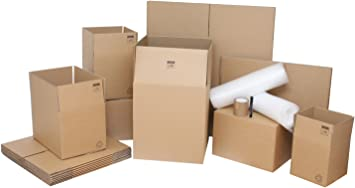 ** Moving Boxes UK Quantity Selectable Top Moving Cartons Removal Boxes *
