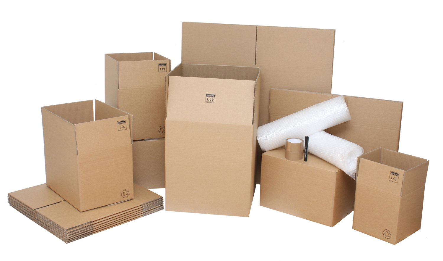 Image result for packing supplies