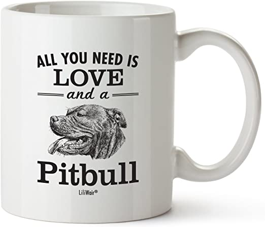 Amazon.com: Pitbull taza de mamá regalos para Mujeres ...