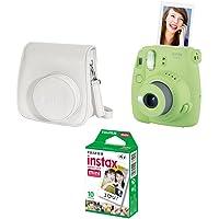 Kit Câmera instantânea Fujifilm Instax Mini 9 c/Bolsa e Filme 10 poses