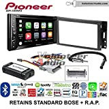 Pioneer AVH-1300NEX Double Din Radio Install Kit with Apple Carplay Bluetooth USB/AUX Fits 2005-2013 Chevrolet Corvette, 2006-2009 Hummer H3 (OE amplified systems and Onstar)