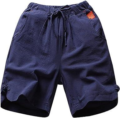 ACEBABY Pantalón Corto Deporte Hombre Moda Funky Pantalones ...