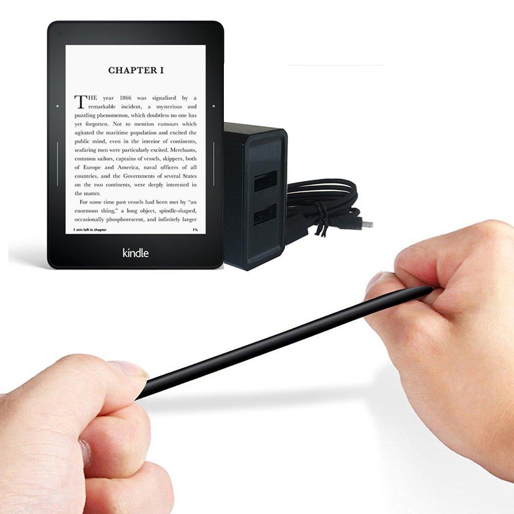 Kindle Paperwhite E-Reader,Kindle Voyage E-Reader,HD 8 10,Echo Dot Fire 7 Fire TV Stick Dual USB Charger and Power Adapter for  Fire TV Stick Fire and Kindle eReaders