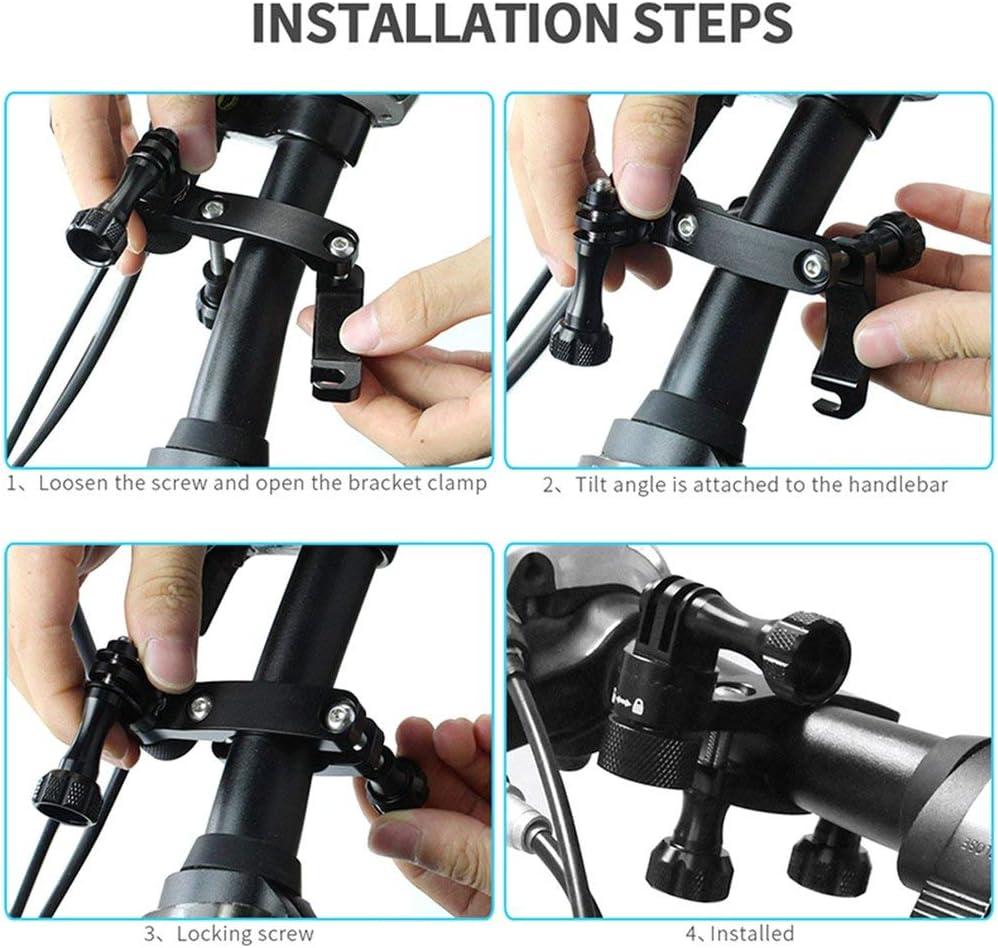 SLR Digital Camera Clamp Bracket DV Bicycle Crane Bracket 180 Degree Crab Clamp Strong Clip Holder Legs Mount Accessories