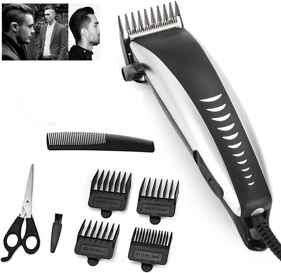 Maquinilla eléctrica cortadora de cabello profesional de los hombres de pelo Trimmer hogar bajo nivel de ruido Herramientas Barba máquina de afeitar del corte de pelo Personal
