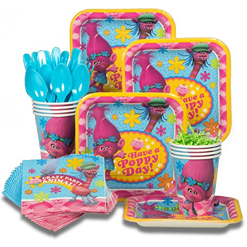 Trolls Tableware Kit (Serves 8)