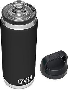 YETI Rambler 26 oz Bottle, Vacuum Insulated, Stainless Steel with Chug Cap