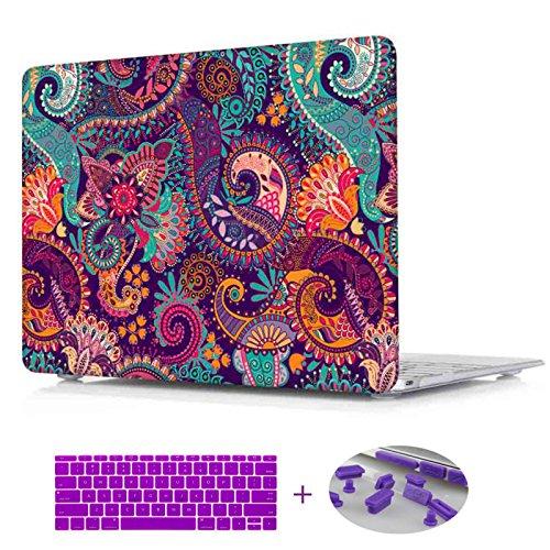 Macbook Paisley seamless pattern Laptop
