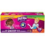 Huggies® Pull-Ups® Training Pants for Girls Day and Night Combo Pack Size: 3T-4T 116 ct