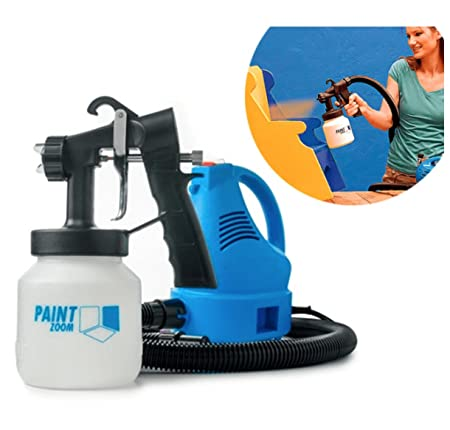 Globalepartner Zoom Ultimate Professional Stainless Steel Paint Sprayer (Blue) Power Paint & HVLP Sprayers at amazon