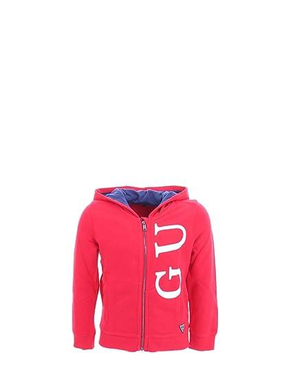 competitive price 6033d 61cb6 Guess Bambino Felpa Rosso Mod. N93Q14: Amazon.fr: Vêtements ...