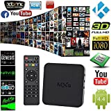 G-Streamer MXQ QUAD Core Android 4.2 TV Box + Special Edition XBMC (Kodi) + FREE 6' Aurum HDMI Cable [LATEST VERSION - Play Games | Stream Latest TV Shows / Movies!]