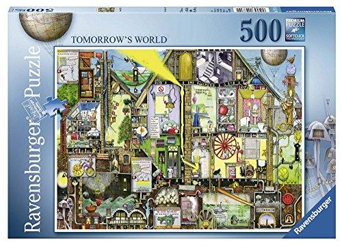 500pc Ravensburger Jigsaw Puzzle - Ravensburger Colin Thompson - Tomorrow's World 500pc Jigsaw Puzzle