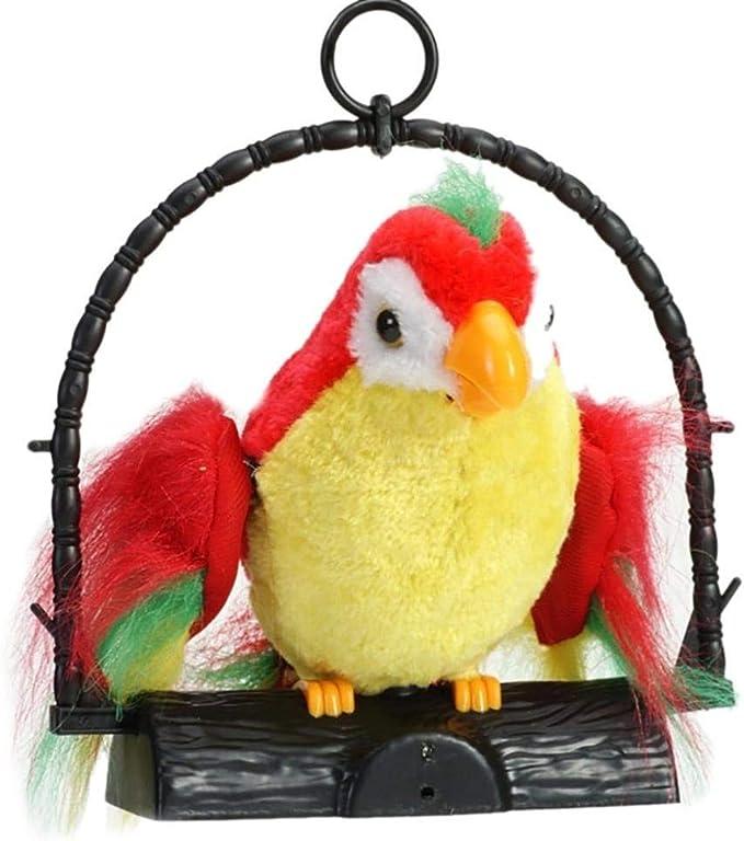 Vektenxi - Peluche de papagayo con Forma de Mimicry Pet: Amazon.es: Hogar