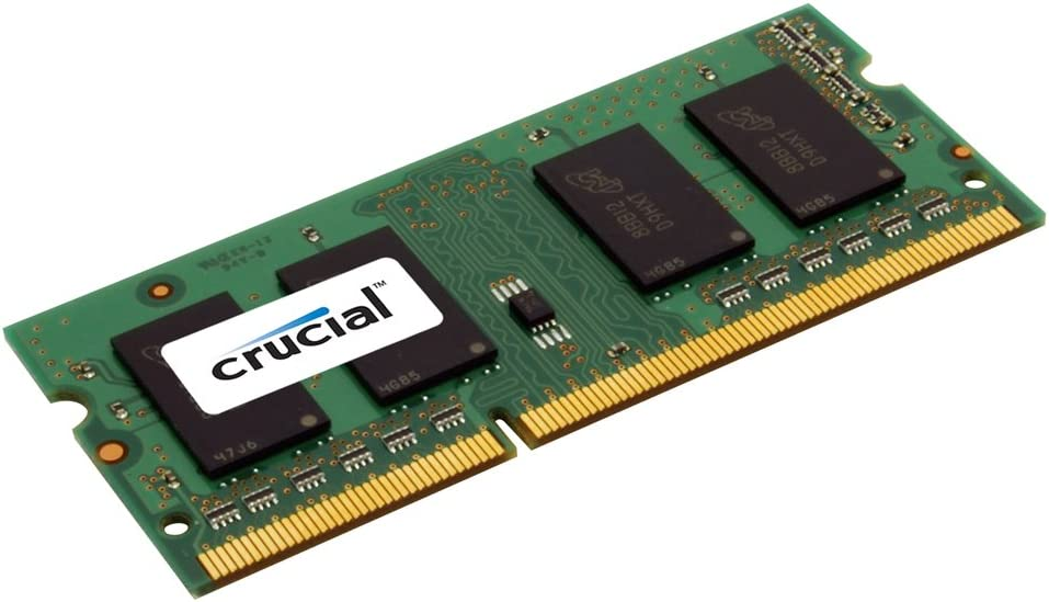 Crucial 4GB Single DDR3 1066 MT/s (PC3-8500) CL7 SODIMM 204-Pin Notebook Memory Module CT51264BC1067