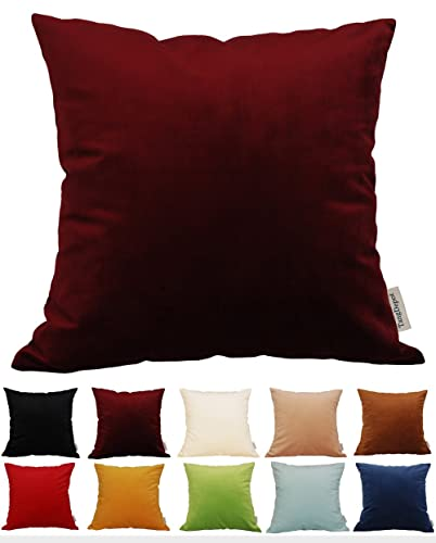 TangDepot-Solid-Velvet-Throw-Pillow