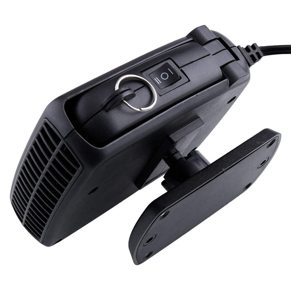 TOPmountain - 12V Car Heater Fan,Portable Winter Car Defroster with Two Working Mode,Low Consumption and Energy Saving