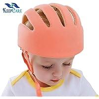 KeepCare Baby Safety Helmet With Corner Guard & Proper Ventilation (Orange)