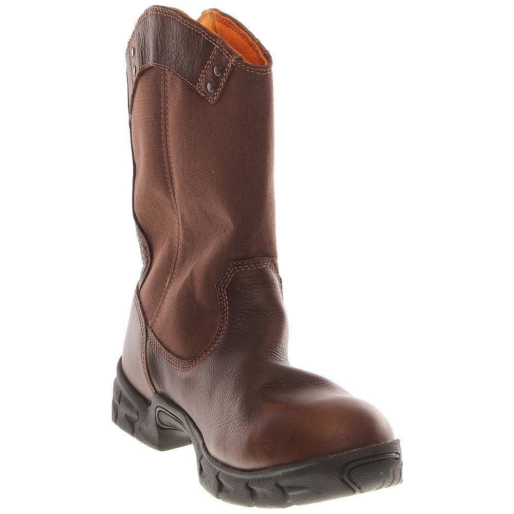 Timberland PRO 87560 Men's Excave WP Wellington Soft Toe Boot Fox Brown 12 W US by Timberland PRO